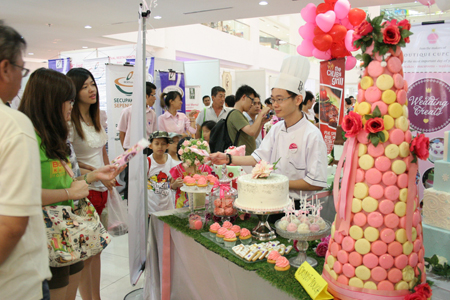 Booth at the Opening Bazaar 2012