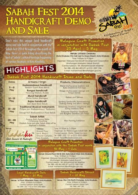 Sabah Fest 2014 kadaiku