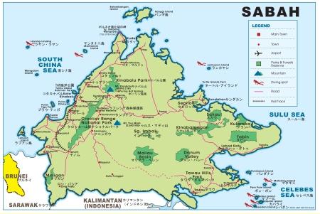 Sabah Map1