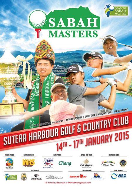 Sabah Masters 2015